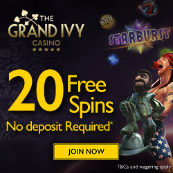 grand ivy casino no deposit bonus