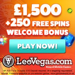 leo vegas deposit offer