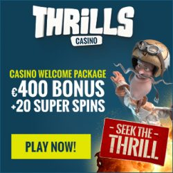 thrills casino deposit bonus offer