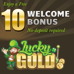 lucky gold casino bonus