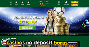 sweet strike casino £10 no deposit