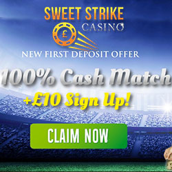 sweet strike casino