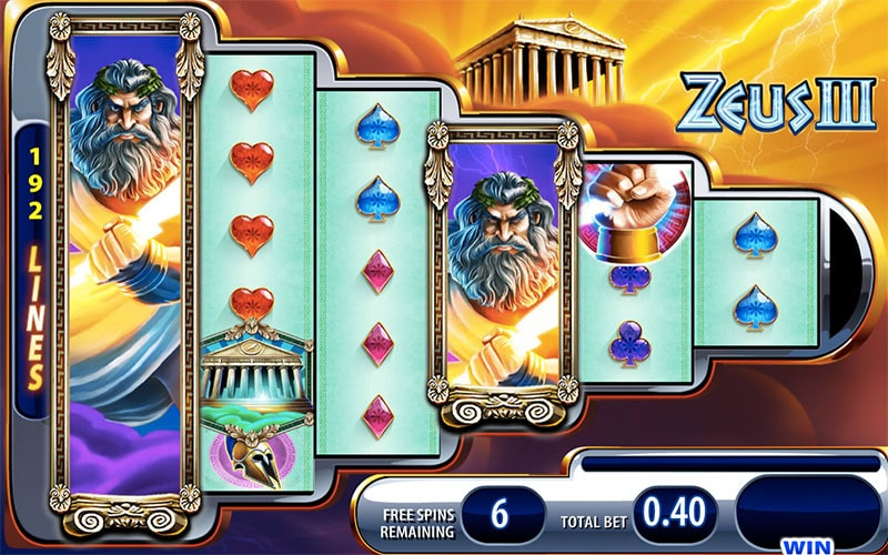 zeus III bonus round wms