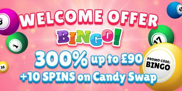 Bingo Welcome Offer Nektan Promotion Advert