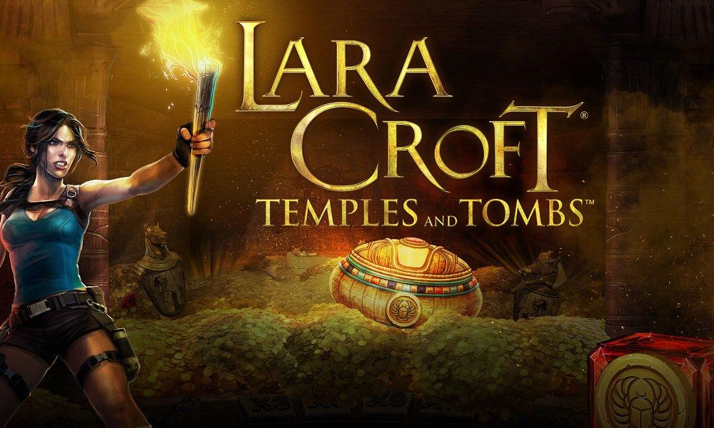 Lara Croft Temples and Tombs Slot Advert